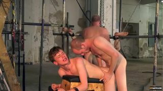 Twinks Alex Faux and Avery Monroe dominated by two masters