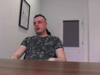 DIRTY SCOUT 238 – Amateurish Czech Guy Analized Bareback On a POV Camera For Extra Money